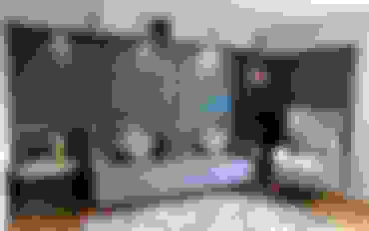 Projekty,  Salon zaprojektowane przez JMdesign