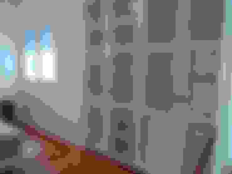 غرفة الملابس تنفيذ Muebleria de Angel