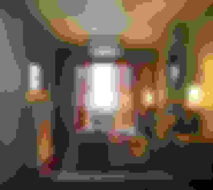 ПОБЕРЕЖЬЕ ТОСКАНЫ: Спальни в . Автор – GraniStudio