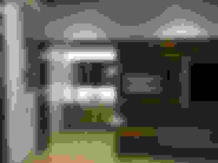 Гостиная в . Автор – Studio Stimulus
