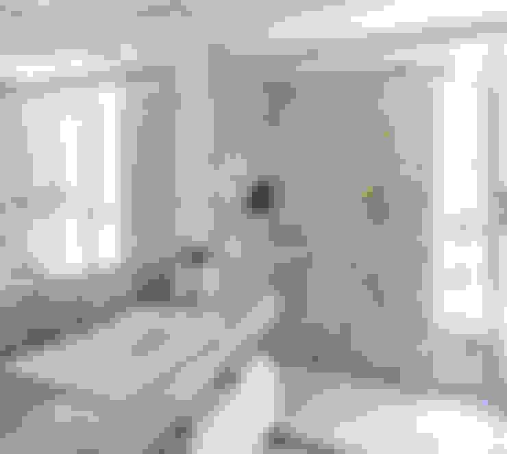 Projeto Apartamento Jardins MBD: Banheiros  por Ambienta Arquitetura