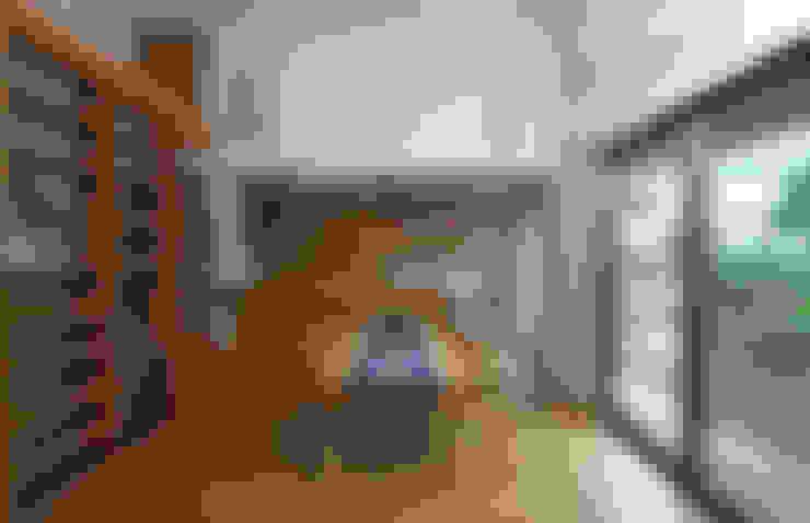Projekty,  Jadalnia zaprojektowane przez かんばら設計室