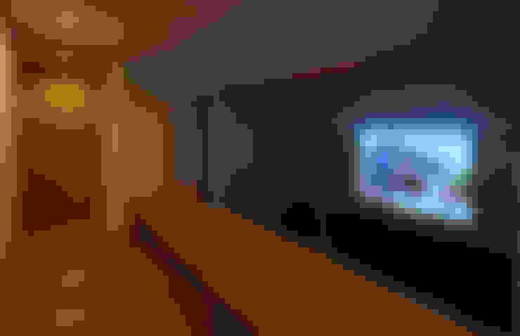 Projekty,  Domowe biuro i gabinet zaprojektowane przez かんばら設計室