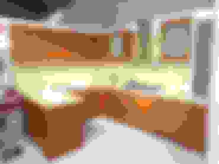 c shape modular kitchen :  Kitchen by aashita modular kitchen