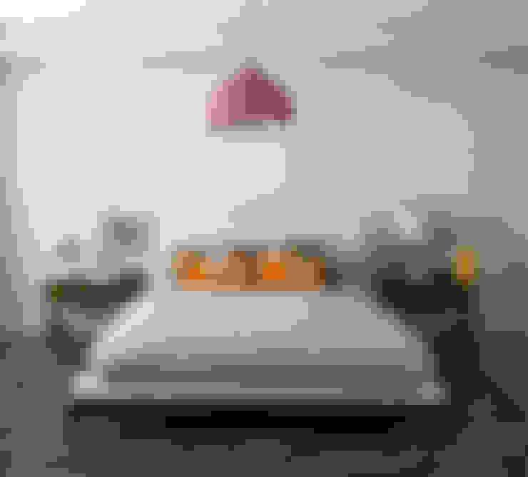 Dormitorios de estilo  por MAGEN | Revestimentos Cimentícios
