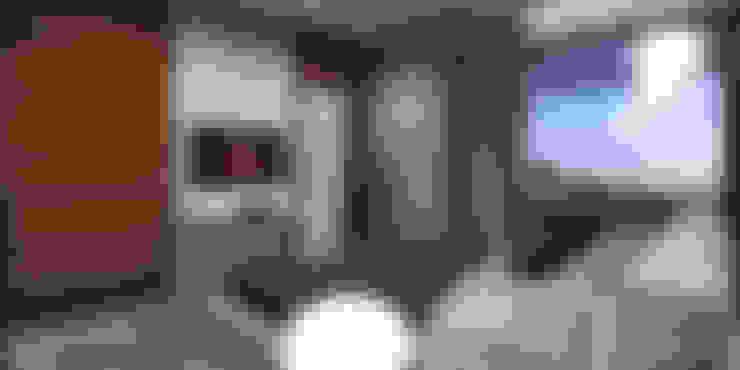 Dormitorios de estilo  por HomeKONCEPT | Projekty Domów Nowoczesnych