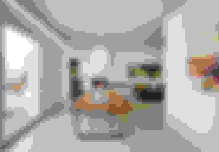 Comedores de estilo  por Burnazzi  Feltrin  Architects