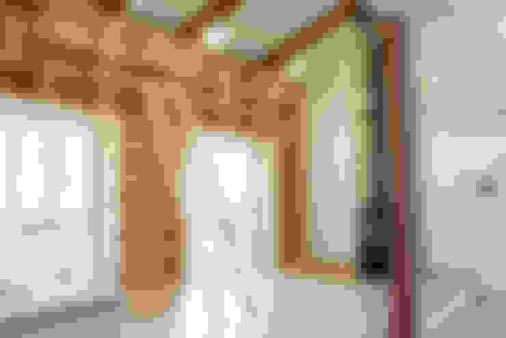 Salas / recibidores de estilo  por 꿈꾸는목수