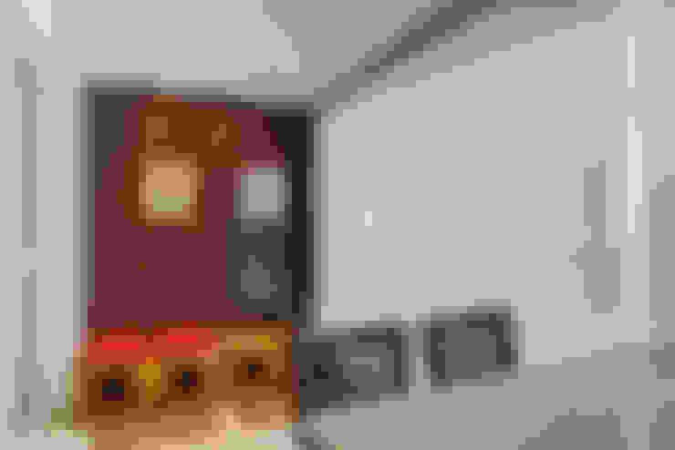 ระเบียง, นอกชาน by Eveline Maciel - Arquitetura e Interiores