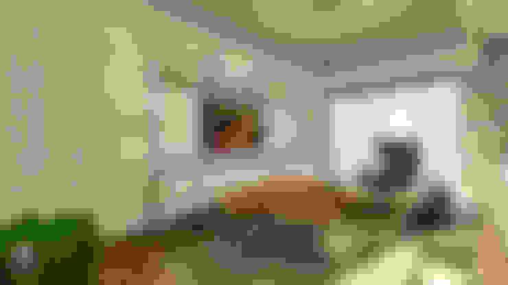Living room by Gümüşcü Mimarlık