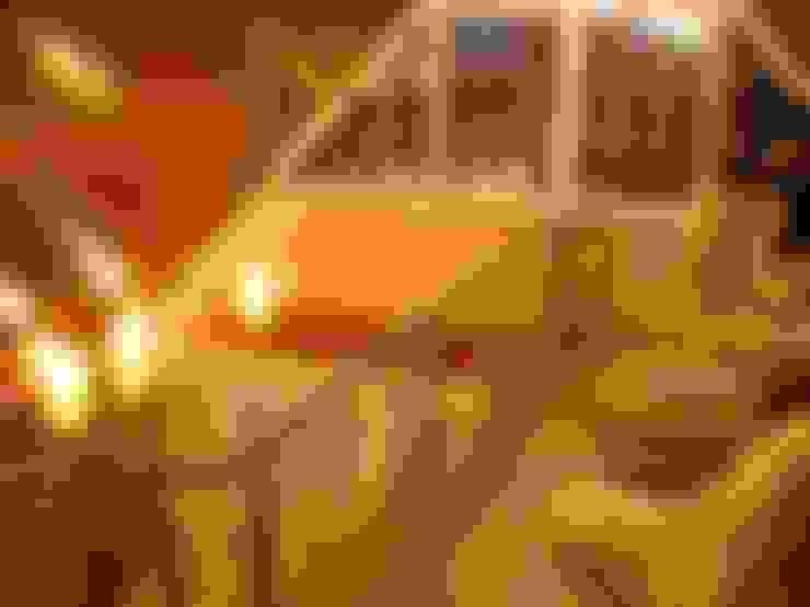 Баня на Николиной Горе: Tерраса в . Автор – архитектурная мастерская МАРТ