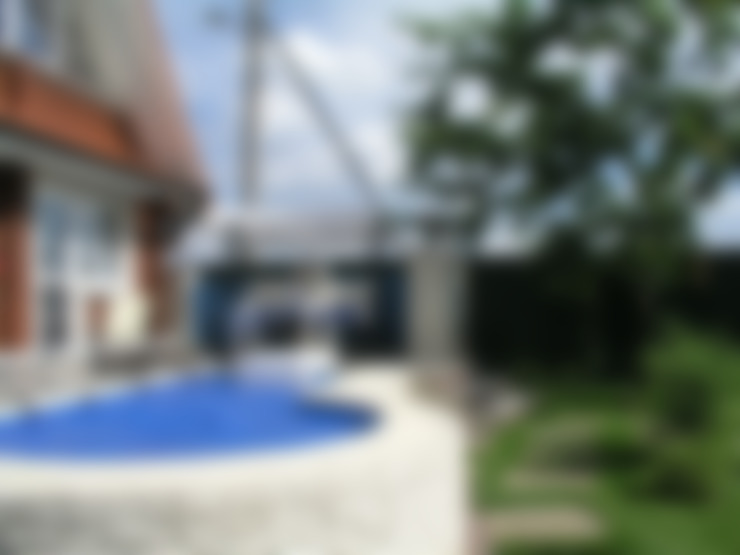 Баня на Николиной Горе: Бассейн в . Автор – архитектурная мастерская МАРТ