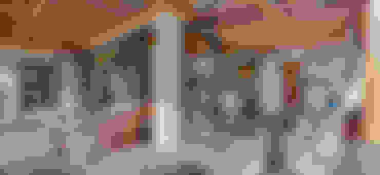 Casa de Campo: Terraços  por Juliana Lahóz Arquitetura