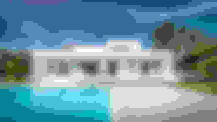 Casas de estilo  por 08023 Architects