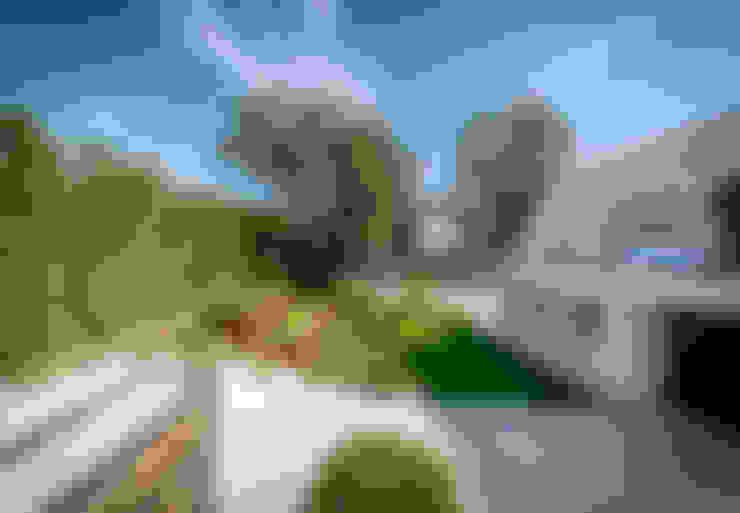 Jardins  por 08023 Architects
