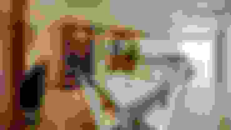 el interior:  tarz Yemek Odası