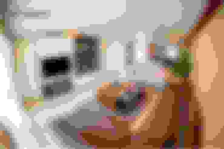 Salas / recibidores de estilo  por el interior
