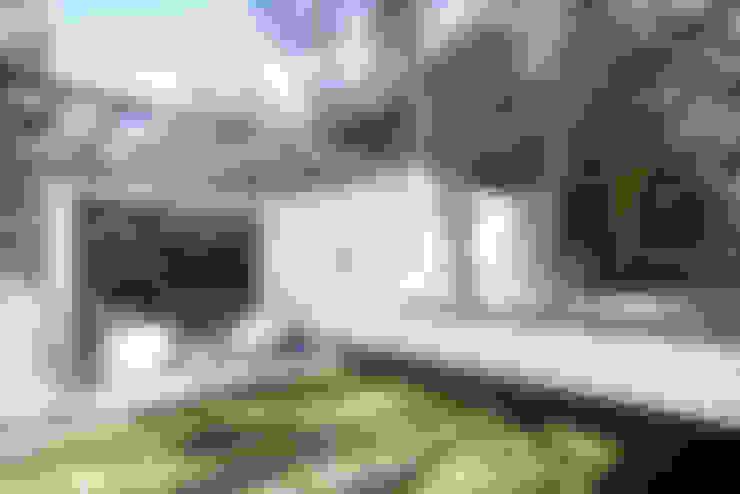 Terrazas de estilo  por Sobrado + Ugalde Arquitectos
