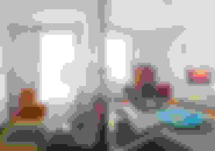غرفة نوم تنفيذ Fabio Azzolina Architetto