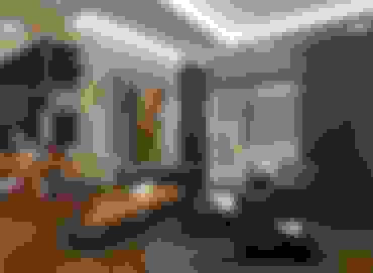غرفة المعيشة تنفيذ VERO CONCEPT MİMARLIK