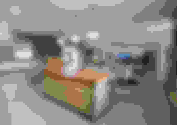 مطبخ ذو قطع مدمجة تنفيذ JSD Interiors