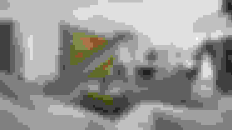 SALA-COMEDOR: Salas de estilo  por FERAARQUITECTOS