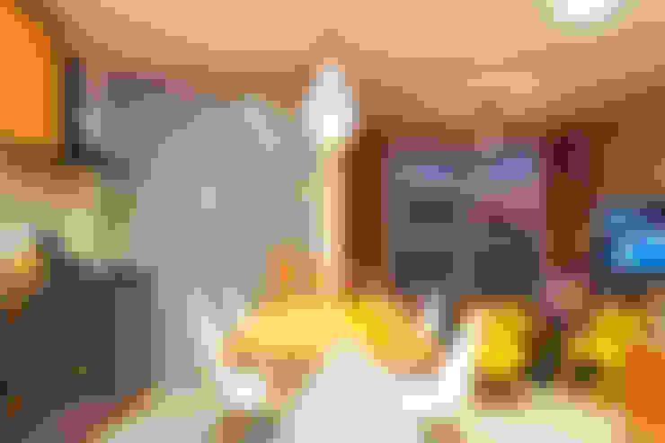 Apartamento LuPaBePe: Salas de jantar  por 285 arquitetura e urbanismo