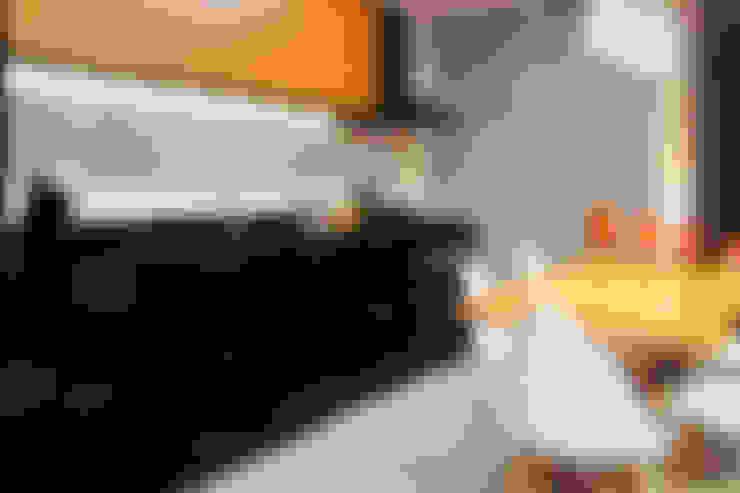 Apartamento LuPaBePe: Cozinhas  por 285 arquitetura e urbanismo