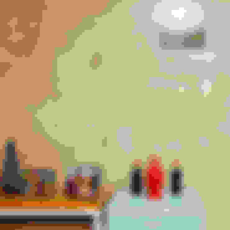 Apartamento LuPaBePe: Salas de estar  por 285 arquitetura e urbanismo