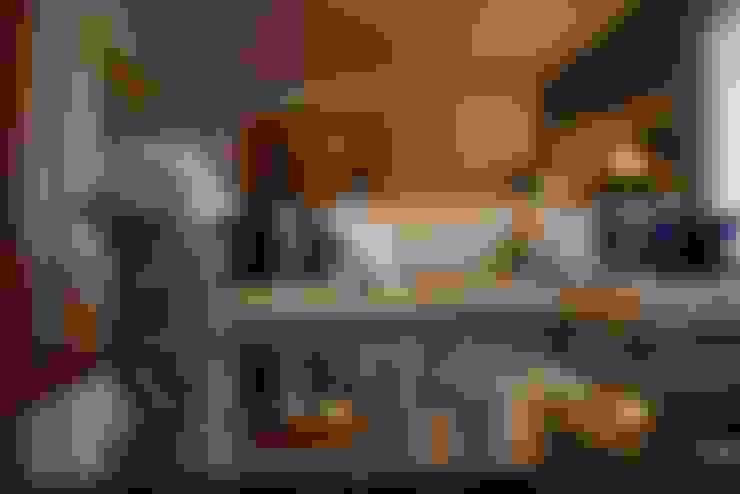Salas de estilo  por Palma Interiores