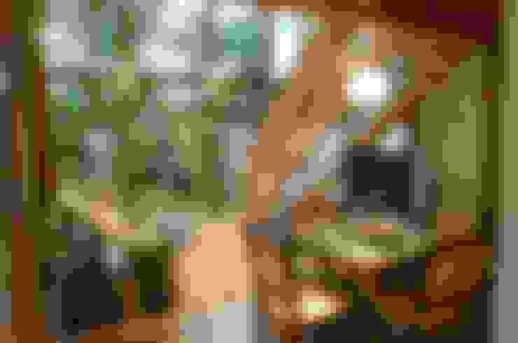 Медиа комнаты в . Автор – Juliana Lahóz Arquitetura
