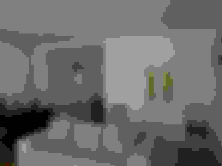 Salas de estar  por QFProjectbuilding, Unipessoal Lda