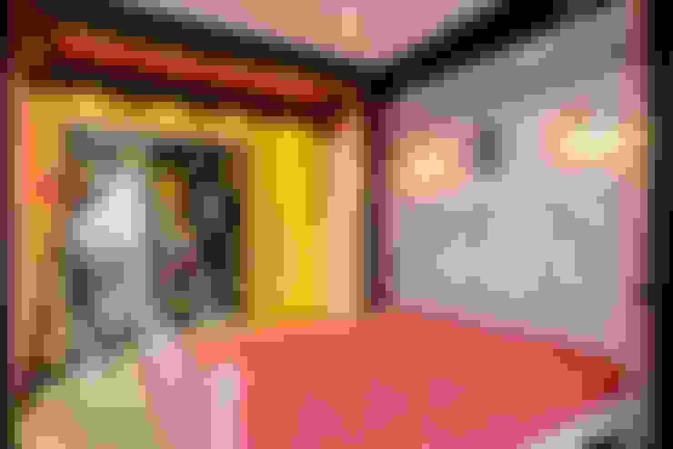 غرفة نوم تنفيذ MARIA MELNICOVA студия SIERRA
