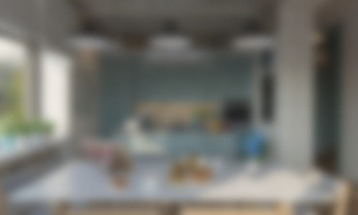 Проект дома + проект интерьера: Кухни в . Автор – Studio of Architecture and Design 'St.art'