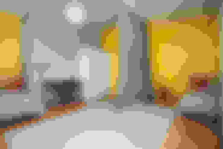 غرفة نوم تنفيذ Kraupe Studio