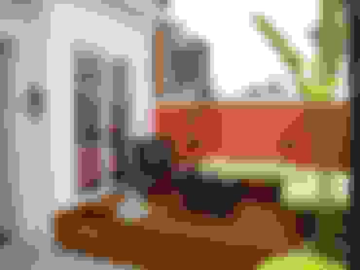 Hiên, sân thượng by BF Sustentabilidade, Arquitetura e Iluminação