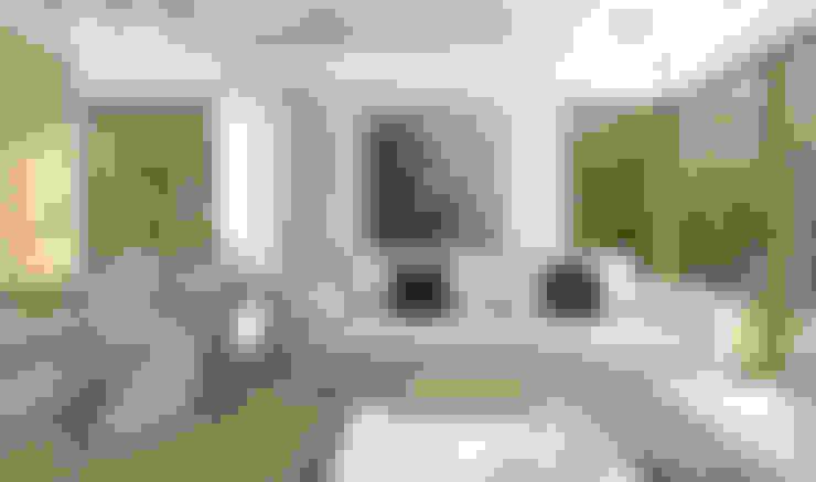 Ruang Keluarga by HomeKONCEPT | Projekty Domów Nowoczesnych