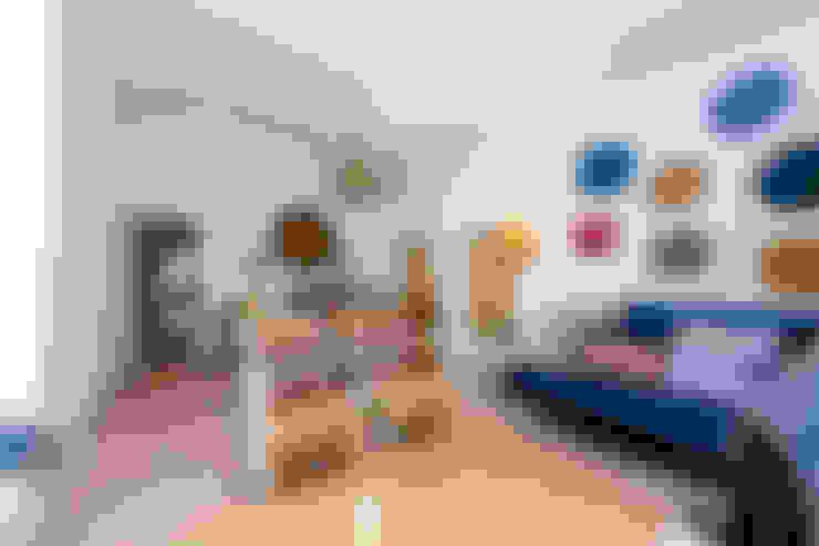 غرفة المعيشة تنفيذ alma portuguesa