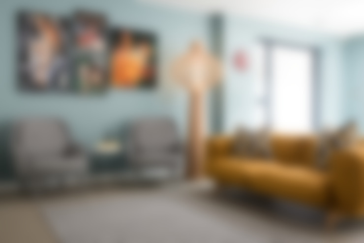 غرفة المعيشة تنفيذ SWM Interiors & Sourcing Ltd