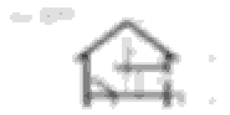Projekt domu HomeKONCEPT-25- przekrój: styl , w kategorii Domy zaprojektowany przez HomeKONCEPT | Projekty Domów Nowoczesnych