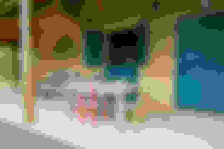 Varanda: Casas  por Valquiria Leite Arquitetura e Urbanismo