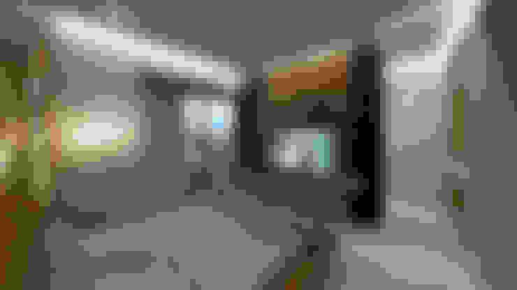 Dormitorios de estilo  por NOGARQ C.A.