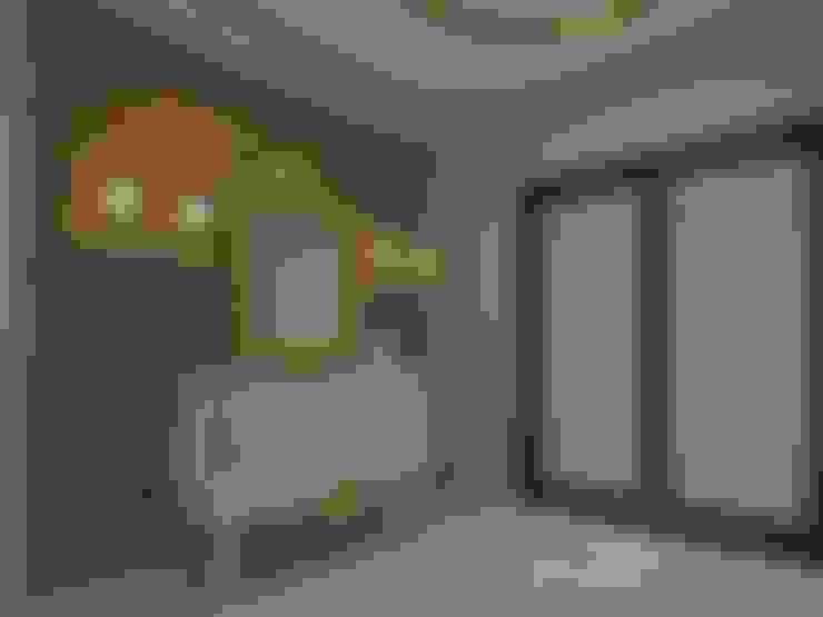 Pasillos y vestíbulos de estilo  de VERO CONCEPT MİMARLIK