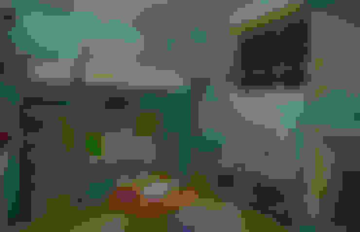 La casita encantada de la isla (Diseño de una habitación infantil): Cuartos infantiles de estilo  por Rbritointeriorismo