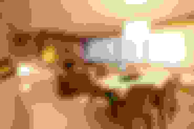 Estar/Jantar: Salas de estar  por João Linck   Arquitetura