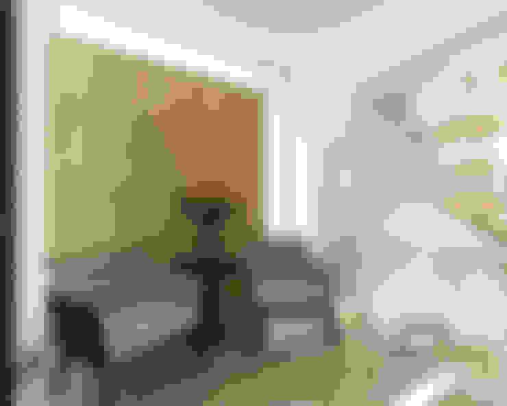 Pasillos y hall de entrada de estilo  por Prototipo Arquitectos
