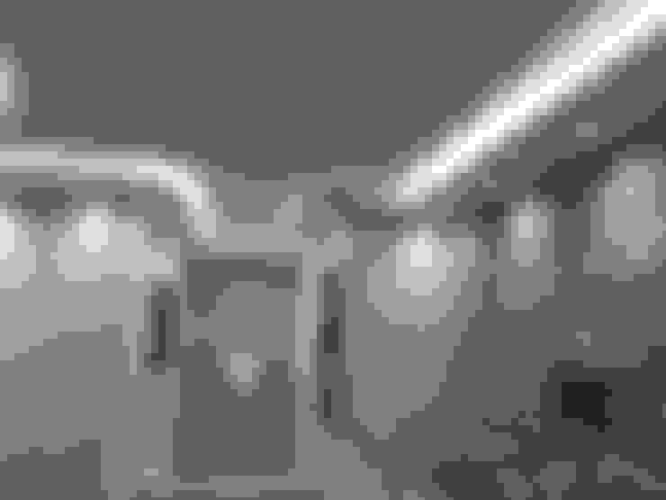 Vestíbulos, pasillos y escaleras de estilo  por TecnoArtEdil