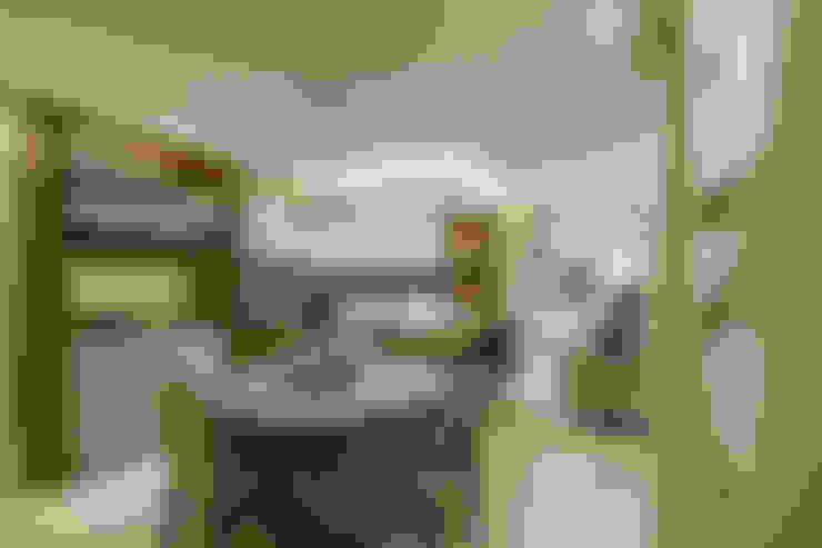 Comedores de estilo  por Juliana Agner Arquitetura e Interiores
