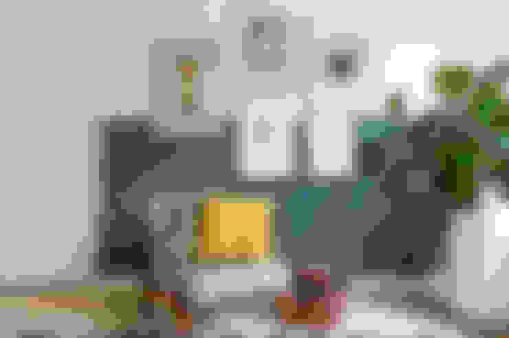غرفة المعيشة تنفيذ Studio Binnen