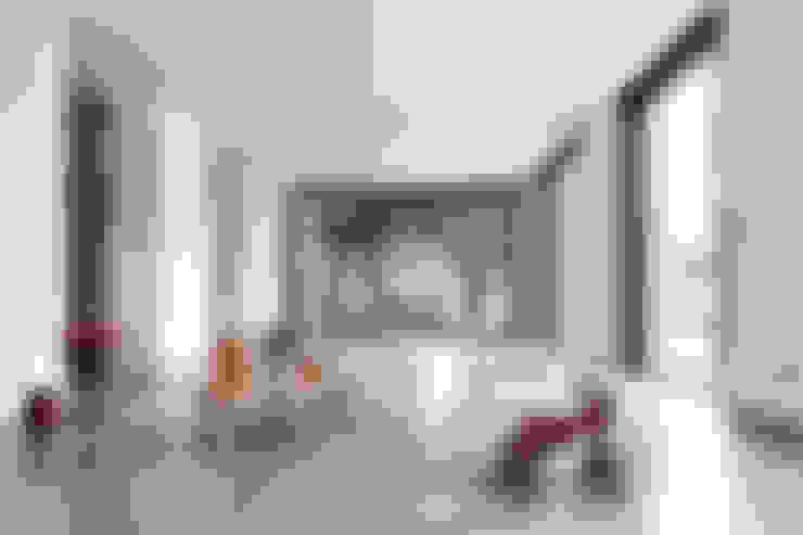 Woonkamer door Cendrine Deville Jacquot, Architecte DPLG, A²B2D